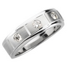 Mens .33 CTW Diamond Tapered Band 7mm Width Ref 675903