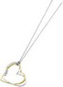 Two-Tone Diamond Heart Necklace | .07 carat TW | SKU: 64969