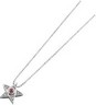 Genuine Ruby Cabochon and Diamond Necklace 3mm .05 CTW Ref 679925