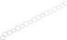 17mm Sterling Silver Endless Chain 36 inch Ref 580023