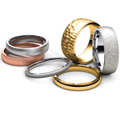 Classic Wedding Bands Quick Shop