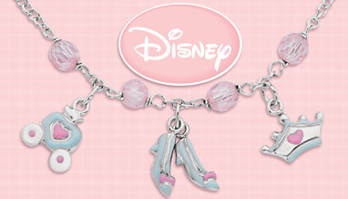 Disney Collection Earrings, Necklaces and Bracelets