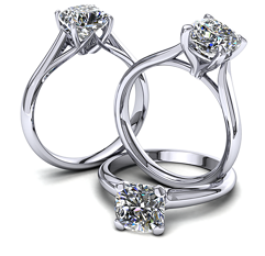 Solitaire Engagement Rings Quick Shop