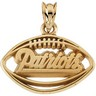 New England Patriots Pendants and Earrings