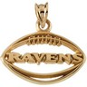 Baltimore Ravens Pendants and Earrings