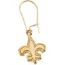 New Orleans Saints Pendants and Earrings