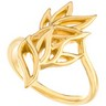 Gold Fashion Ring Ref 881001
