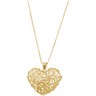 Wire Heart Necklace Ref 879640