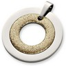 Amalfi  Stainless Steel Glitter Circle Pendant with Immersion Plate Ref 711605