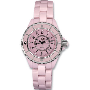 Pink Ceramic Couture  Watch for Ladies Ref 622336