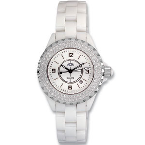 White Ceramic Couture  Watch for Ladies Ref 226152