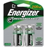 Energizer e2 Rechargeable C Batteries 2 Pack