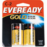 Eveready Gold Alkaline C Batteries 2 Pack Ref 890344