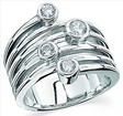 Platinum Diamond Right Hand Ring .63 CTW Ref 702329