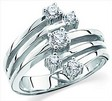 Platinum Diamond Right Hand Ring .5 CTW Ref 959960