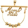 Moms Kids Pendant Charm Holder Ref 481569