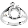 Mother and Child Ring 13.5mm Width Ref 895397