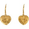 Puppy Love  Lever Back Earrings 15.25 x 16mm Ref 639783