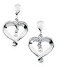 Heart and Soul  Earrings 25.25 x 14.75mm Ref 343290