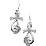 Sing for Joy  Earrings 25 x 15.5mm Ref 729009