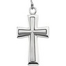 Cross Pendant 39 x 21.75mm Ref 355418