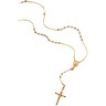 Tri Color Rosary Necklace 16 inch Ref 285729