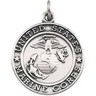 St. Michael U.S. Marines Medal 22.5mm Ref 677125