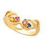 Birthstone Mothers Ring May hold 2 to 6 round 2mm gemstones Ref 882473