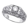 Round Antique Retro Engagement Ring 1 CTW Ref 321854