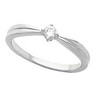 Ladies Teen Ring with Accent 10 pttw dia Ref 443995
