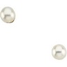 Cultured Pearl Earrings 5mm Ref 852365