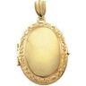 Oval Victorian Locket Pendant 26 x 19mm Ref 796588