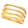 Gold Fashion Band Ref 859875