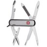 Brushed Stainless Steel Pocket Tool Genuine Swiss Army Knife Ref 311976