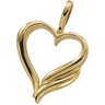 Heart Shaped Pendant Ref 421663
