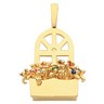 The Original Window Box  Pendant Holds up to 12 gemstones Ref 394693
