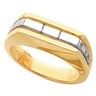 Two Tone Mens Ring 8mm Ref 381797