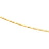1.25mm Round Omega Chain with Lobster Clasp Ref 956497