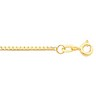 1.5mm Box Chain with Spring Ring Clasp Ref 763291