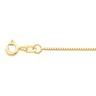 .75mm Solid Box Chain with Spring Ring Clasp Ref 443710
