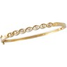 Diamond Bangle Bracelet .25 Carat Ref 241147