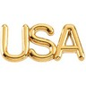 USA Lapel Pin 15 x 6.75mm Ref 552255