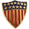 America Shield of Honor Lapel Pin 12.5 x11.5mm Ref 748289