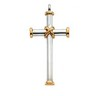 Two Tone and Tri Color Gold Crosses
